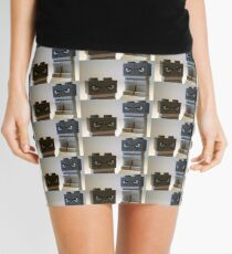 Evil Weird Head Monster Mini Skirt