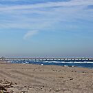 Juno Beach Pier by D R Moore