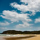 Digger Beach, Coffs Harbour by Katherine Williams