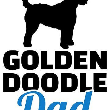Goldendoodle dad by Designzz
