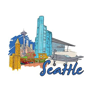Seattle Washington - Beautiful Places Around The World by Ding-One