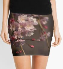 Weeping Cherry Blossoms Mini Skirt