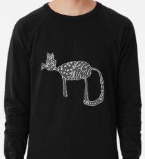 Katzen Liebe Leichter Pullover