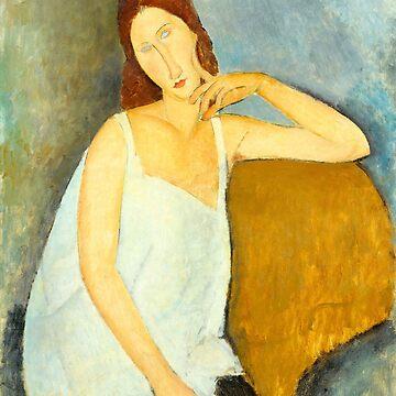 Jeanne Hébuterne, Modigliani by fourretout