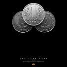 Deutsche Mark der DDR von Black Sign Artwork