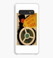 Women Empowerment Handle with Care T-Shirt Case/Skin for Samsung Galaxy
