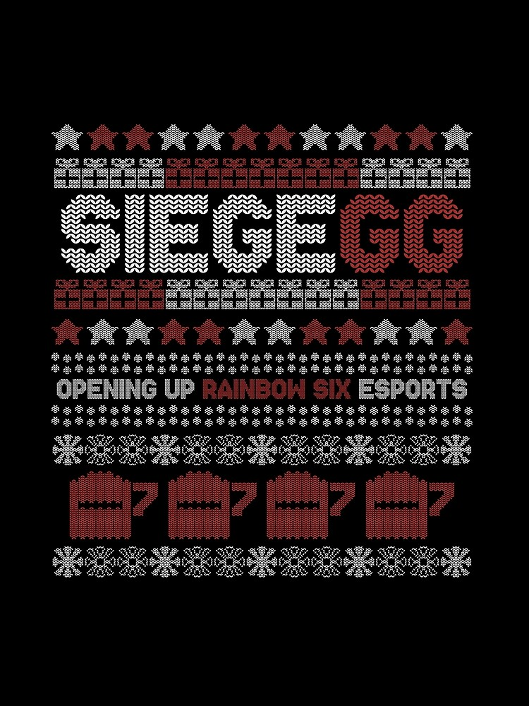SiegeGG - Ugly (but beautiful) Christmas Sweater by SiegeGG