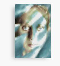 Winter Woman Canvas Print