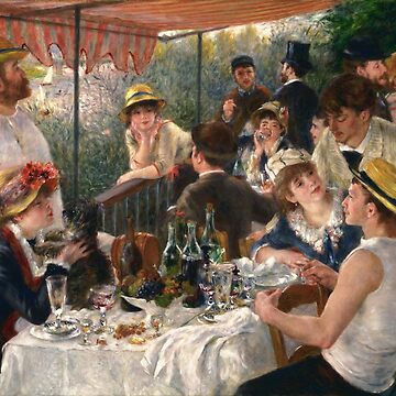 The Breakfast of the Boaters, Auguste Renoir by fourretout