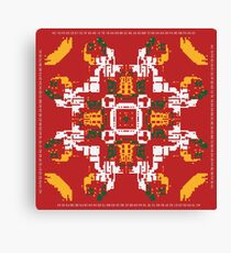 CA Fantasy Red Merry Christmas series #8 Canvas Print