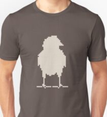 Chicks as a silhouette Unisex T-Shirt