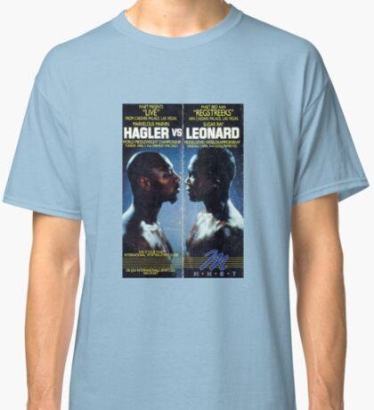 Hagler vs Leonard Camiseta clásica