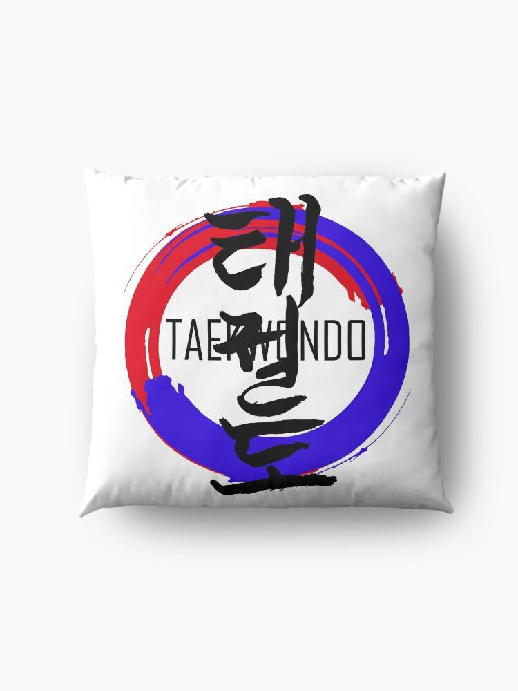 Alternative Ansicht von Kampfsport Taekwondo Bodenkissen