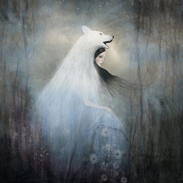 wolf princess by dansedelune