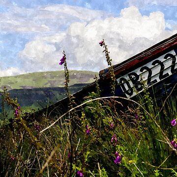 Abandoned Vessel - Isle of Ulva - Watercolour by FreakMonkey