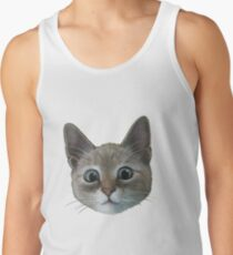 happy cat Tank Top