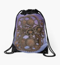 Steampunk Gears Drawstring Bag