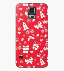 Holidays Pattern  Case/Skin for Samsung Galaxy