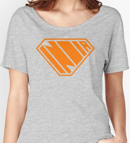 India SuperEmpowered (Orange) Relaxed Fit T-Shirt
