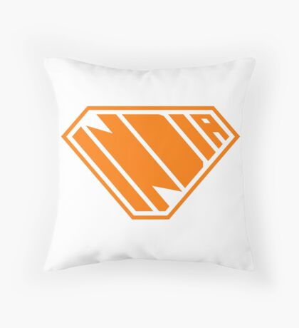 India SuperEmpowered (Orange) Floor Pillow