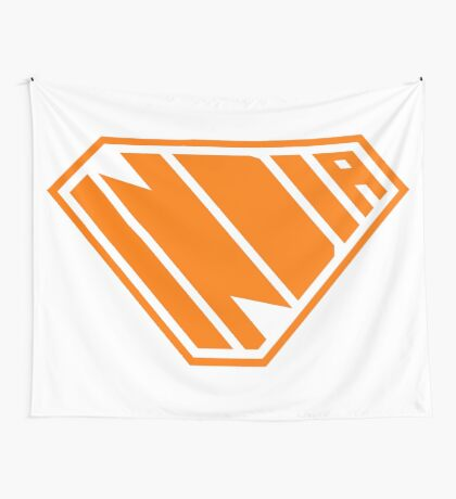 India SuperEmpowered (Orange) Wall Tapestry