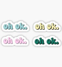 oh ok. 4 pack of stickers-keep on truckin Sticker