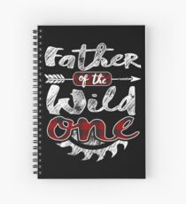 Father of the Wild One Shirt Lumberjack Woodworker Sawdust Buffalo Plaid measure once plaid cabinet maker contractor wood timber working tools Spiralblock