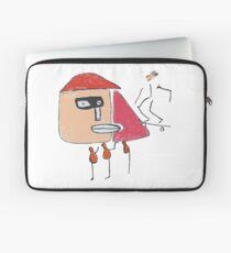 Ein Gangster, ein Skater und drei Einbeinige Laptoptasche