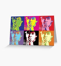 Bill Hicks - Pop Art Bill Greeting Card