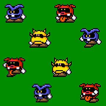 Dr. Mario / Virus by MisterPixel
