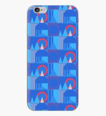 Central Line London Underground Moquette iPhone Case