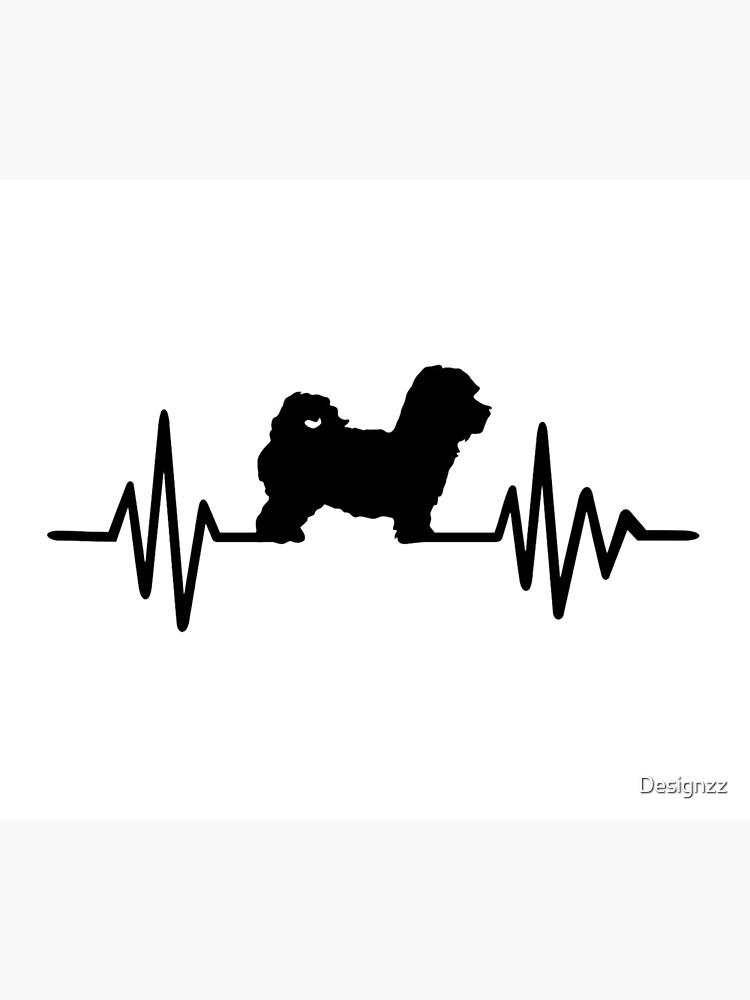 Heartbeat Maltipoo by Designzz