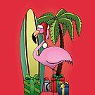 Xmas Flamingo by mangulica
