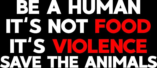 Image of: Animal Cruelty Vegetarian Fight Animal Welfare Redbubble Vegetarian Fight Animal Welfare
