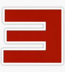 Eminem E Sticker