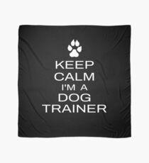 Pañuelo Mantener la calma Soy un entrenador de perros Funny Dog Training Idea de regalo