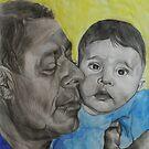 Mustafa and Sinan by Tony Sturtevant
