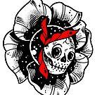 Skull Rose by Ella Mobbs
