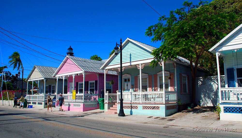 Key West Pastels by Susanne Van Hulst