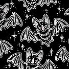Bat Echoes Pattern by Ella Mobbs