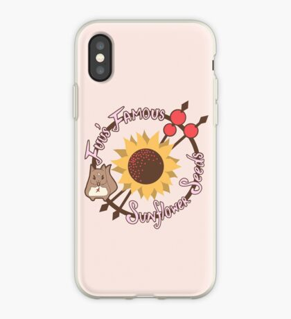 Fuu's Famous Sunflower Seeds iPhone Case