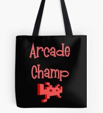 Arcade Champ by Chillee Wilson Tote Bag