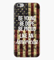 Vinilo o funda para iPhone americano