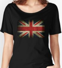 Grungy Union Jack Women's Relaxed Fit T-Shirt