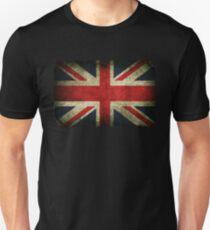 Grungy Union Jack Slim Fit T-Shirt
