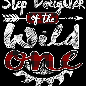 Step Daughter of the Wild One Shirt Lumberjack Woodworker Buffalo Plaid measure once plaid pajamas cabinet maker contractor wood timber working tools by bulletfast