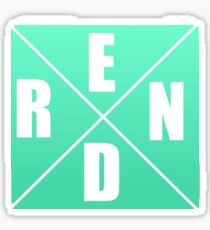 Rend Collective Cross Letters Sticker