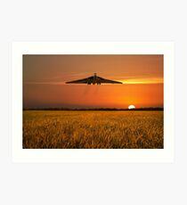 Vulcan Farewell Fly Past Art Print