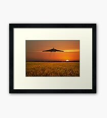Vulcan Farewell Fly Past Framed Print