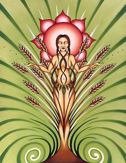 Goddess of Earth by Sarah Jane Bingham